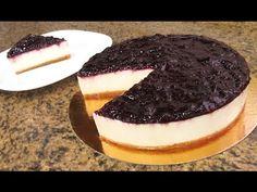 Como hacer tocino de cielo sobre tarta de queso - YouTube