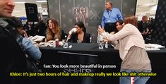 And Khloé Kardashian reminded us of the same, with brutal honesty. | 29 Times Celebrities Had The Best Damn Responses To Questions About...