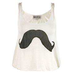 Mustache shirt!