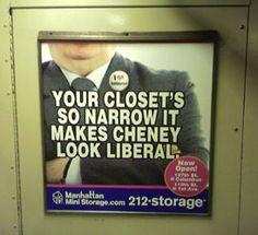 Liberal Cheney.