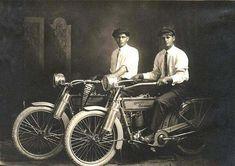 William Harley and Arthur Davidson c1914