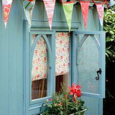 Pretty & Practical: Garden Sheds & Backyard Retreats! - The Inspired Room