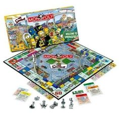 Simpsons Monopoly...Want!