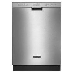 "Best dishwasher ever. KitchenAid- -Classic Series 24"" Built-In Dishwasher ENERGY STAR®"