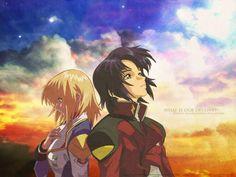 Gundam Seed @ Athrun x Cagali
