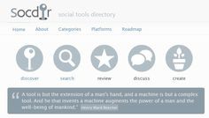 Useful directory of social tools and software.