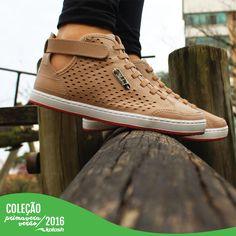 Detalhes vazados para seus pés ficarem fresquinhos na Primavera/Verão. Esta é mais uma das novidades da nova coleção!