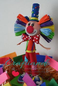 fofucho payaso clown party