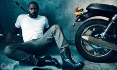 Spotlighting Idris–Pacific Rim star Idris Elba covers the March 2013 issue of British GQ, out later this week. Getting a style makeover, Elba takes on a… Idris Elba, Black Is Beautiful, Gorgeous Men, Beautiful People, Pretty People, Norman Jean Roy, Uk Magazines, Ll Cool J, Nelson Mandela
