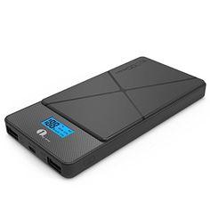 Nuova offerta in #elettronica : 1byone 10000 mAh Caricabatterie Portatile con 3 porte USB Compatto Caricatore Portatile Esterno con Schermo LCD e Classica Scocca per Smartphone Nera. a soli 15.29 EUR. Affrettati! hai tempo solo fino a 2016-10-05 23:29:00