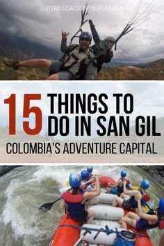 15 Things To Do in San Gil - Colombia's Adventure Capital San Gil Visit Colombia, Colombia Travel, Argentina Travel, San Gil, Travel Advice, Travel Guides, Travel Tips, Travel Destinations, Panama