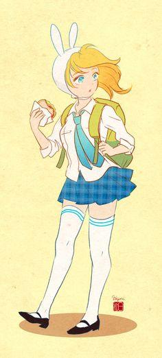 School Time: Fionna