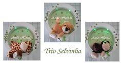 Nichos decorados, mede 30cm de diametro no modelo redondo e 30x30cm no quadrado.  Fazemos diversas cores e modelos.  ***PARA NOMES COMPOSTOS ACRÉSCIMO DE R$ 10,00*** R$ 350,00