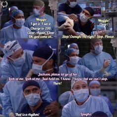 😭😭👏🏽👏🏽 Greys Anatomy Episodes, Greys Anatomy Funny, Grey Anatomy Quotes, Tv Show Quotes, Movie Quotes, Grey's Anatomy, Riverdale Merch, Supernatural Star, Jackson Avery