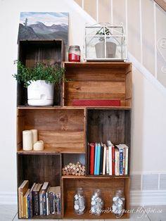 diy weinkisten schuhregal clevere l sung zur aufbewahrung deiner schuhe basteln pinterest. Black Bedroom Furniture Sets. Home Design Ideas