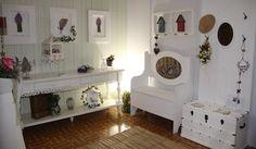 Mix de quadros na parede   decorando com artesanato ~ Arte De Fazer   Decoração e Artesanato