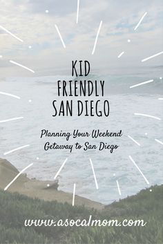 A Family Guide to Fun in San Diego   I've mentioned it before, but it bears repeating. San Diego is my family's favorite weekend getaway. It's two hours south of Los Angeles and there are so m…