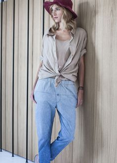 By the Moon - women collection. Ombre jeans.
