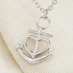 >>>Pandora Jewelry OFF! >>>Visit>> Gifts for Daughter from Mom Anchor Necklaces for Girls Necklace for Women Pendants for girls Jewelry. gift ideas for girls from mom. Love Gifts, Gifts For Wife, Gifts For Friends, True Friends, Anchor Heart, Anchor Necklace, Pendant Necklace, Religious Gifts, Message Card