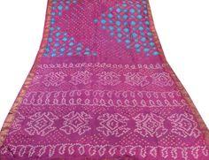 http://www.ebay.com/itm/VINTAGE-INDIAN-SAREE-PRINTED-FABRIC-PURE-SILK-SARI-CRAFT-BANDHANI-5-YARD-PURPLE-/321744895818?pt=LH_DefaultDomain_0