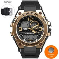 Digital Watches Watches Nice Outdoor Sport Watch Men Digital Watch Compass Fitness Watch 5bar Waterproof Watches Stainless Strap Reloj Hombre Mild And Mellow