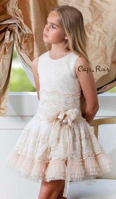 Prom Girl Dresses, Gala Dresses, Lovely Dresses, Little Girl Dresses, Flower Girl Dresses, Baby Skirt, Baby Dress, Girls Fashion Clothes, Kids Fashion