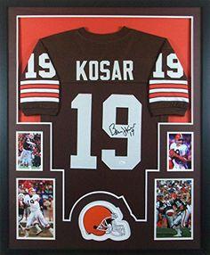 Bernie Kosar Framed Brown Jersey Signed JSA COA Autographed Cleveland Browns Mister Mancave http://www.amazon.com/dp/B013HKL9LS/ref=cm_sw_r_pi_dp_Seurwb187EVZB