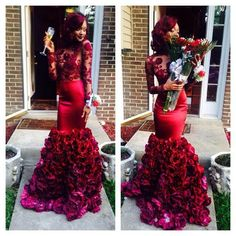 But her dress is out this world!!! Farner creation