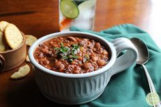 3 Bean Chili - a hea