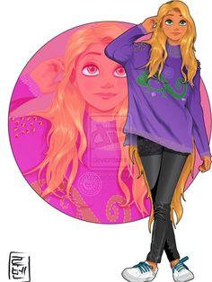 princesse disney look étudiante