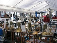 "Shupp's Grove Antique Market • Insider Tip: Check out the theme weekend schedule for this shaded outdoor market, located in Adamstown, Pa.—which bills itself as ""Antiques Capital, U.S.A."""