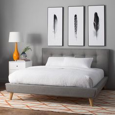 You'll love the Rasmussen Upholstered Platform Bed at Wayfair - Great Deals on all Furniture products with Free Shipping on most stuff, even the big stuff.