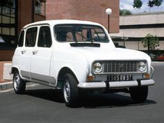 gaaf oud karretje, Renault 4