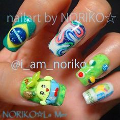 2014 World Cup Nail Art | Salon Fanatic