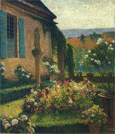 Garden of the Artist - Henri Martin