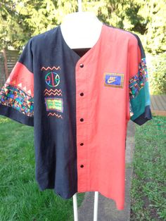 Vintage nike air raid jersey shirt urban jungle by Simplemiles, $175.00