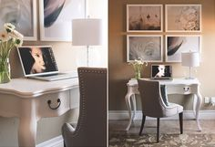 the gorgeous office of photographer Megan Cieloha