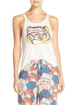 MINKPINK 'Do Not Disturb' Graphic Tank available at #Nordstrom