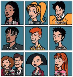 I am thinking of using a style similar to Mtv's Daria for my cartoon rat. I like the think outlines and block colours. Daria Morgendorffer, 90s Cartoons, Cartoon Memes, Cartoon Shows, Cartoon Rat, Daria Tv Show, Daria Mtv, Daria Characters, Cartoon Characters