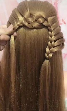 Cool Hairstyles For School, Cute Hairstyles, Diy Beauty Makeup, Beauty Hacks, Edgy Hair, Hani, Hair Brush, Hair And Nails, Makeup Looks
