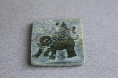 Chinese+Jade+Elephant+Pendant+by+BeadyEyedBird+on+Etsy,+$15.00