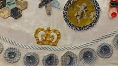 atelier prins: The Prince, workshop van Susan Smith Susan Smith, Mini Quilts, Applique, Projects To Try, Workshop, Prince, Van, Holiday Decor, Charmed
