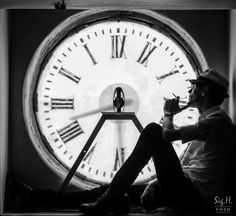 """Time is on my side"" by Sigurd H. Oyvang #conceptual #photography"