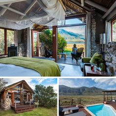 The 15 Best Places to Stay in Hermanus – The Inside Guide Fishing Villages, Lodges, The Good Place, Mosaic, Mountain, Cabin, House Styles, Places, Outdoor Decor