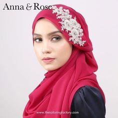 Salam & good morning. . Utk pembelian #sofea ..anda semua boleh membeli secara online hari ini di website www.thetailoringfactory.com . Utk walk in di #hanabellaseribangi dan #hanabellameruipoh pembelian boleh dibuat bermula rabu, 27 januari 2016 😍 - Anna Hijab Style Tutorial, Anna Rose, Beautiful Hijab, Hijab Fashion, Hand Stitching, Walk In, Hijab Styles, Shawl, Niqab