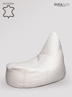 Fotel deluxe ekoskora bialy produkt pufashop Bean Bag Chair, Wedges, Furniture, Shoes, Fashion, Moda, Zapatos, Shoes Outlet, Fashion Styles