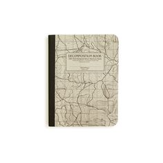 Kate's Paperie : Shop : Decomposition Notebook, Topographical Map w/... ($9) ❤ liked on Polyvore