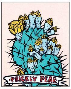prickly pear print