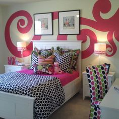 Interesting wall treatment perhaps for Tay's room
