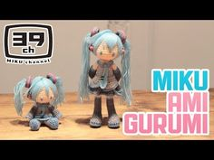 "【初音ミク】 Making "" Amigurumi MIKU"" 【HATSUNE MIKU】 - YouTube"